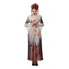 Bloody Hands Halloween Adult Dress