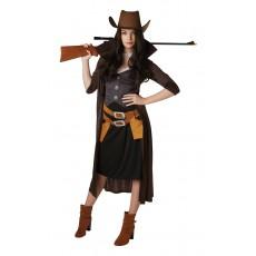 Gunslinger Womans Adult Costume Western