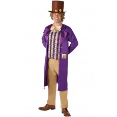 Willy Wonka Charlie & The Chocolate Factory Deluxe Adult Costume
