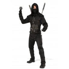Dark Ninja Japanese Adult Costume