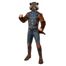 Rocket Raccoon Guardians of the Galaxy Deluxe Men's Adult Costume