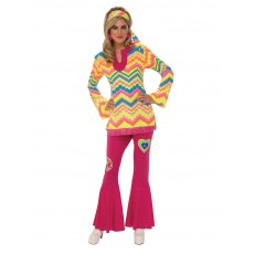 Mod Girl 1960s Adult Costume