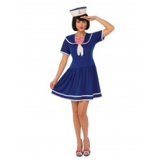 Sailor Lady Halloween Adult Costume
