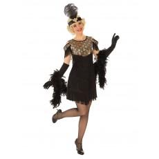 Gold Flapper 1920s Adult Costume