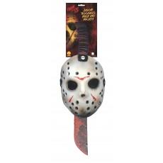 Jason Mask & Machete Set Halloween - Accessory