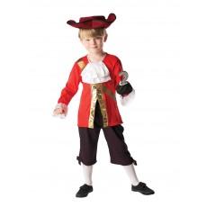 Captain Hook Pirates Deluxe Child Costume