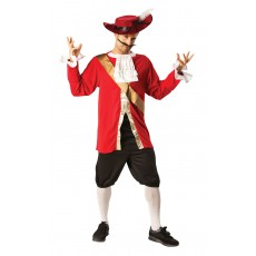 Captain Hook Pirates Deluxe Adult Costume