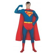 Superman 2nd Skin Adult Suit