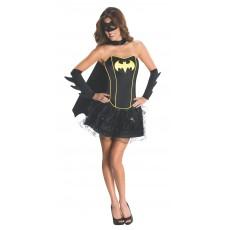 Batgirl Adult Corset/Skirt