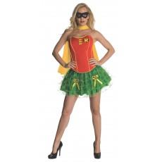 Robin DC Comics Secret Wishes Adult Corset/Skirt