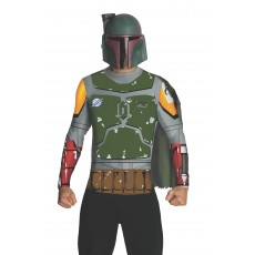 Boba Fett Star Wars Costume Adult Top