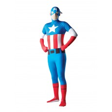 Captain America 2nd Skin Adult Suit