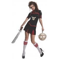 Jason Cheerleader Secret Wishes Corset Adult Costume Halloween