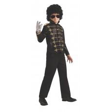 Michael Jackson Celebrities Deluxe Black Military Child Jacket