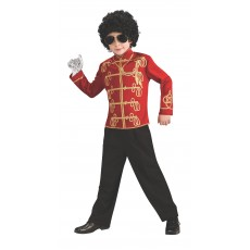 Michael Jackson Celebrities Red Military Child Jacket