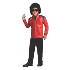 Michael Jackson Celebrities Deluxe Beat It Red Child Jacket