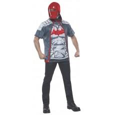 Red Hood DC Comics Costume Adult Top