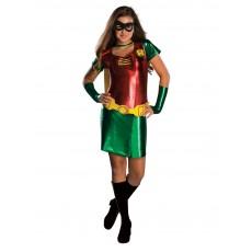 Robin DC Comics Teen Titans Female Child Costume