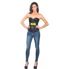 Batgirl Sequin Adult Corset