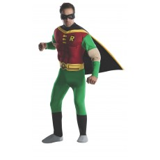 Robin DC Comics Deluxe Muscle Chest for Adult