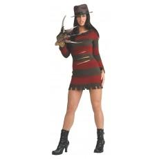 Freddy 'Miss Krueger' Adult Costume Nightmare on Elm St