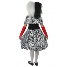 Cruella De Vil 101 Dalmatians Deluxe Child Costume