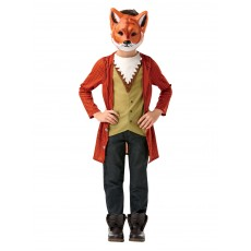 Mr Fox Deluxe Child Costume Fairytale
