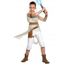 Rey Star Wars Deluxe Child Costume