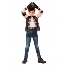 AJ Styles WWE Costume Top And Child Gloves