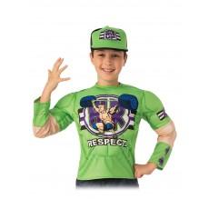 John Cena WWE Costume Top And Child Hat