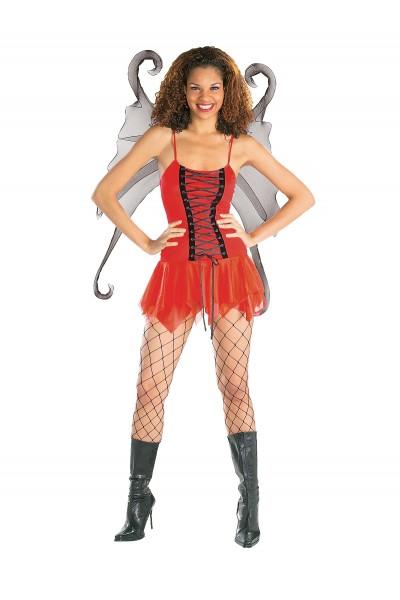 Crimson Fairy Secret Wishes Adult Costume