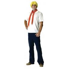Fred Jones Scooby Doo Deluxe Adult Costume