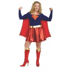 Supergirl Deluxe Costume Plus