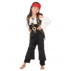 Angelica Pirates of the Caribbean Deluxe Child Costume