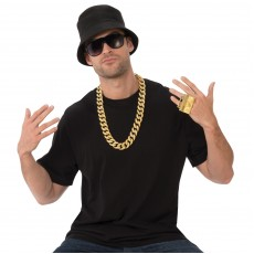 Old School Rapper Careers Kit for Adult - Accessory