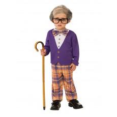 Little Old Man Fairytale Child Costume