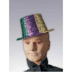 Glitter Top Adult Hat Mardi Gras - Accessory