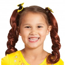Emma Wiggle Pigtails With Bows - Accessory