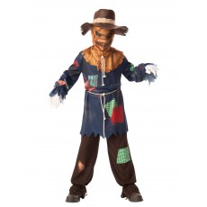 Sinister Scarecrow Wizard of Oz Child Costume