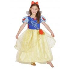 Snow White Glitter & Glow Premium Child Costume