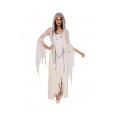 Ghostly Spirit Halloween Womens Adult Costume