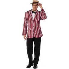 Good Time Sam Roaring 1920's Adult Costume