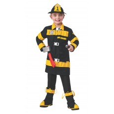 Fire Fighter Deluxe Child Costume Careers
