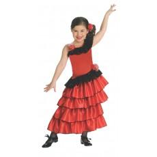 Spanish Princess Flamenco Child Costume