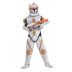 Clone Trooper Commander Cody Deluxe Child Costume Star Wars