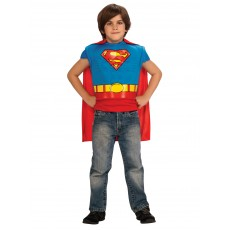 Superman Muscle Chest Costume Child Top