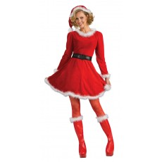 Mrs Claus Christmas Deluxe Adult Costume